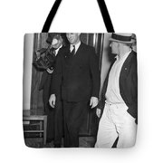 Harry Bridges Signs Pact Tote Bag