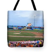 Harry Grove Stadium Frederick Keys Tote Bag