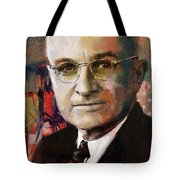 Harry S. Truman Tote Bag