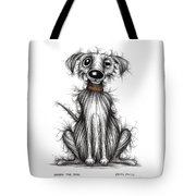 Harry The Dog Tote Bag