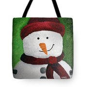 Harry The Snowman Tote Bag