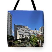 Harry Weese's Chicago River Cottages Tote Bag