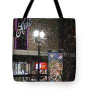 Hart In The Snow - Grants Pass Tote Bag