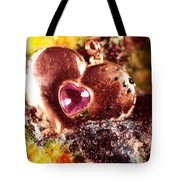 Hart Melting In Color Snow Tote Bag
