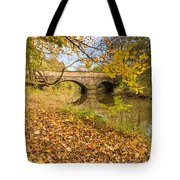 Hartford Bridge In Autumn Tote Bag