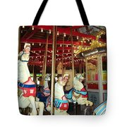Hartford Carousel Tote Bag