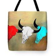 Hart's Camp Buffalo Skulls Tote Bag