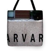 Harvard Tote Bag
