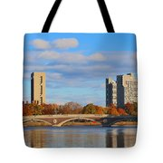 Harvard Towers Over The Charles Tote Bag