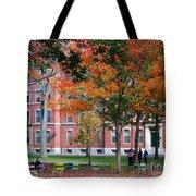 Harvard Yard Fall Colors Tote Bag