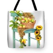 Harvest Fayre Tote Bag by Amanda Elwell