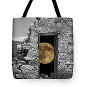 Harvest Moon Through The Magic Door Tote Bag