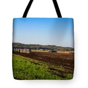 Harvest Time In Holland Marsh Ontario Tote Bag