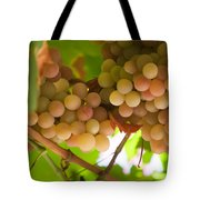 Harvest Time. Sunny Grapes II Tote Bag