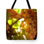 Harvest Time. Sunny Grapes IIi Tote Bag by Jenny Rainbow