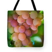 Harvest Time. Sunny Grapes Tote Bag
