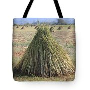 Harvested Sesame Crop Tote Bag