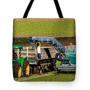 Harvesting Spinach Tote Bag