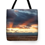 Harvey Beach Sunset Tote Bag