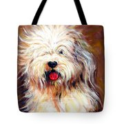 Harvey The Sheepdog Tote Bag