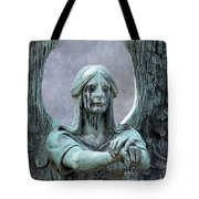 Haserot Weeping Angel Tote Bag