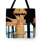 Hastings Pier Supports Tote Bag