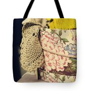 Hatbox Of Lace Tote Bag