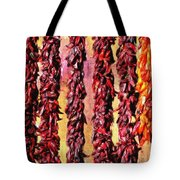 Hatch Red Chili Ristras Tote Bag