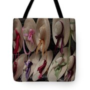 Hats In Colonial Williamsburg Tote Bag