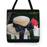 Hats Off To Summer Tote Bag