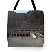 Hatshepsut Temple 06 Tote Bag
