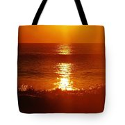Hatteras Island Sunrise 12 10/2 Tote Bag