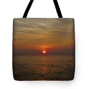 Hatteras Island Sunrise 2 8/21 Tote Bag