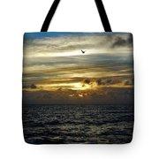 Hatteras Island Sunrise 2 9/10 Tote Bag