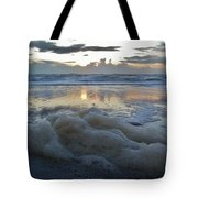 Hatteras Island Sunrise 3 10/10 Tote Bag