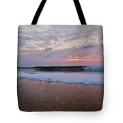 Hatteras Island Sunrise 4 10/18 Tote Bag