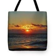 Hatteras Island Sunrise 4 11/03 Tote Bag