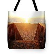 Hatteras Island Sunrise 6 8/23 Tote Bag