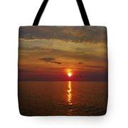 Hatteras Island Sunrise 8/18 Tote Bag