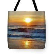 Hatteras Island Sunrise 9 8/28 Tote Bag