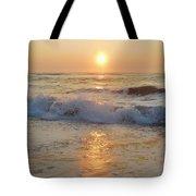 Hatteras Sunrise 9 8/6 Tote Bag
