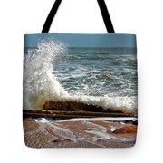 Hatteras Waves Tote Bag