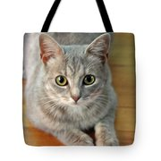 Hattie The Kitty Tote Bag