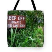 Haul Cane Road Tote Bag