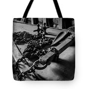 Hauled Anchor Tote Bag