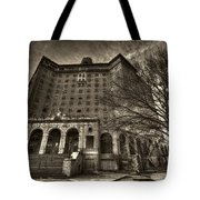 Haunted Baker Hotel Tote Bag