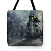 Haunted House Tote Bag