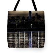 Haunted Lighthouse Tote Bag