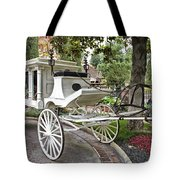 Haunted Mansion Hearse New Orleans Disneyland Tote Bag