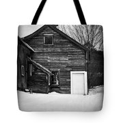 Haunted Old House Tote Bag by Edward Fielding